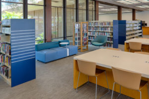 Sonoma County Library interior remodel